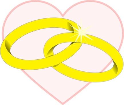 Wedding Rings2 clip art