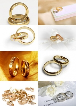wedding rings highdefinition picture
