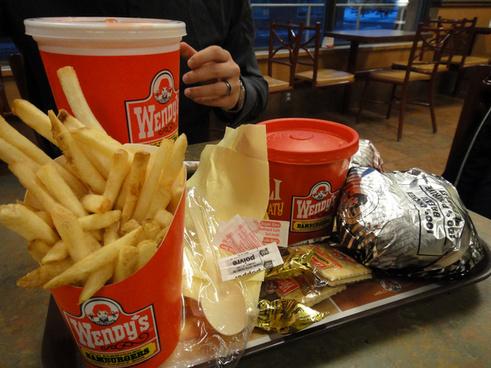 wendys fast food