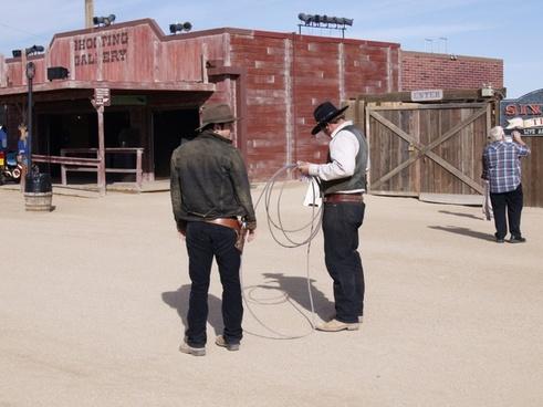 western lifestyle cowboy gun
