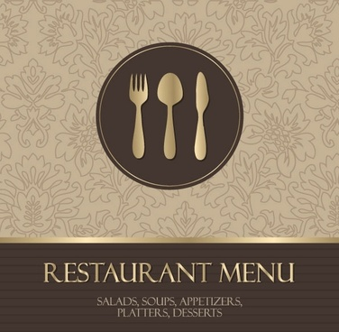 western menu background 05 vector