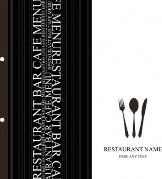 western shop menu vector