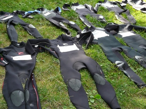 wetsuits suit black