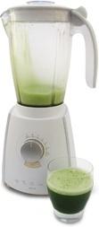 Wheatgrass juice liquidizer