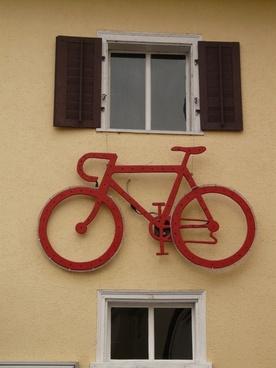 wheel bike red