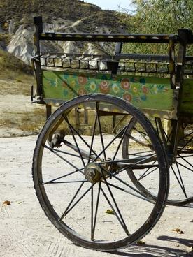 wheel spokes coach