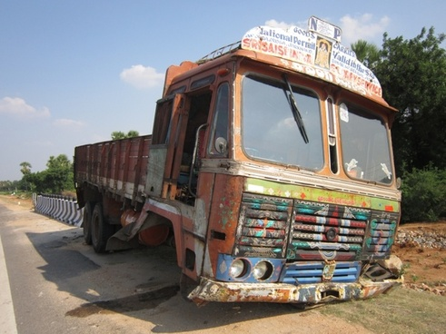 wheel truck accident