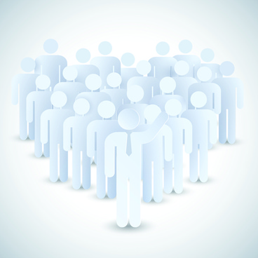 white business people design vector
