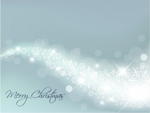 white christmas background vector illustration