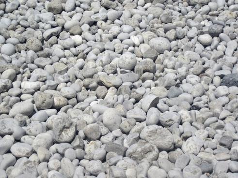 white pebbles pattern