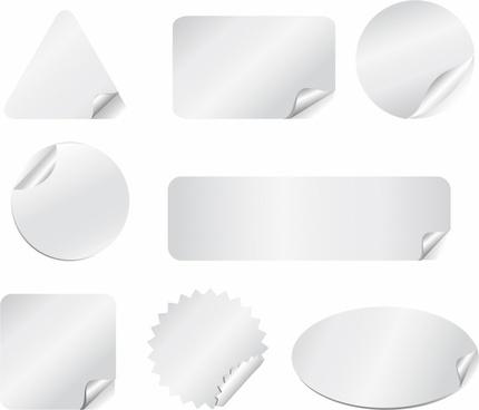 White Stickers