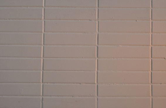 white tiles on the wall