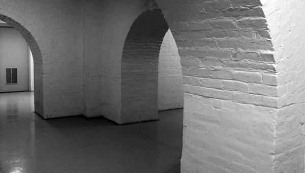 white walls basement