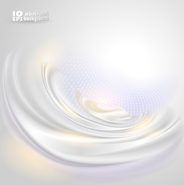 white waves backgrounds vector