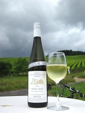 white wine bottle sky