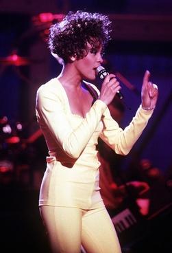whitney houston singer entertainer
