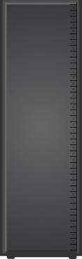 Wide Server Rack clip art