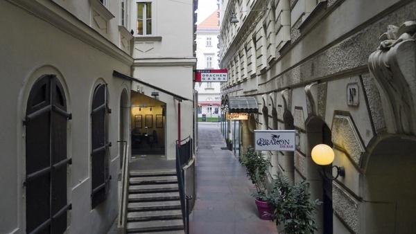 wien austria walkway