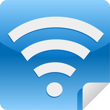 Wifi web 2.0 sticker