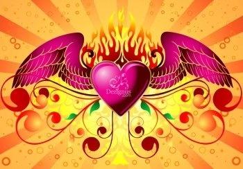 Wild at Heart Vector Design Adobe Illustrator CS4 Tutorial