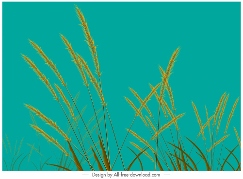 wild rush painting colored classic decor