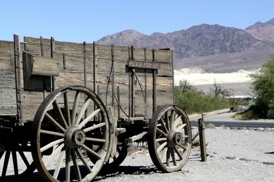 wild west wagon wooden