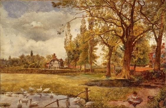 william davis painting oil on canvas