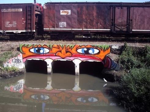 willis graffiti in guaruja