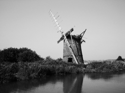 windmill england old