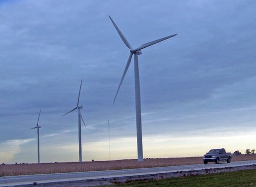 windmill truck wind energy