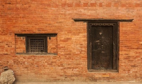window door old