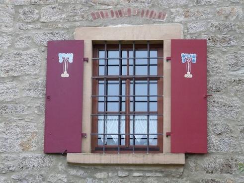 window shutter grid