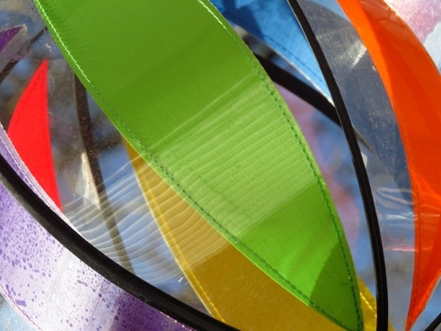 windspiel colorful plastic