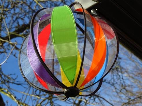 windspiel colorful wind