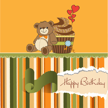 winnie happy birthday card