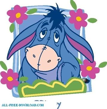 Winnie the Pooh Eeyore 008