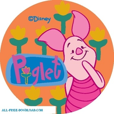 Winnie the Pooh Piglet 004