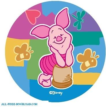 Winnie the Pooh Piglet 006