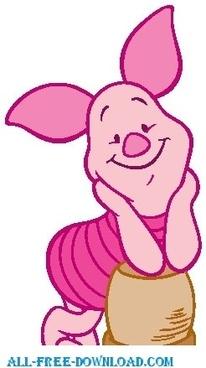 Winnie the Pooh Piglet 012