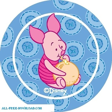 Winnie the Pooh Piglet 020