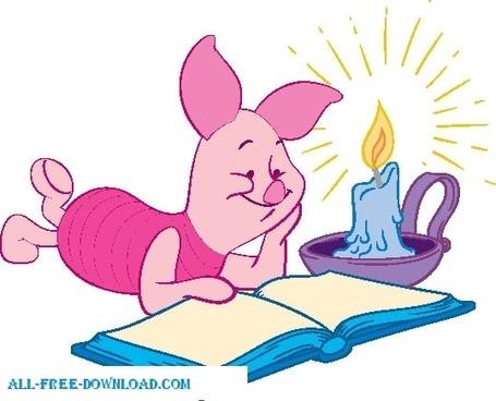 Winnie the Pooh Piglet 026