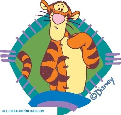 Winnie the Pooh Tigg 003