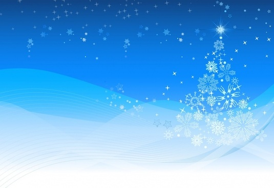 Winter and Christmas background