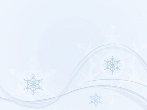 winter background snowflake