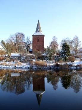 winter berkenthin church