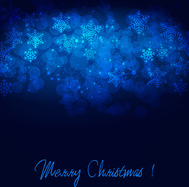 winter blue xmas vector backgrounds art