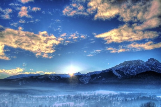 winter landscape hd picture 2