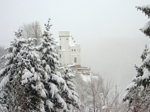 winter mood dresden