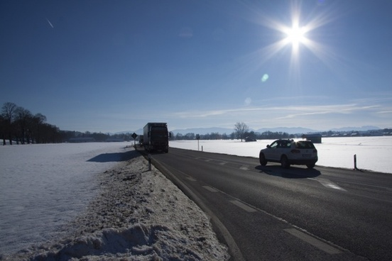 winter snow autos