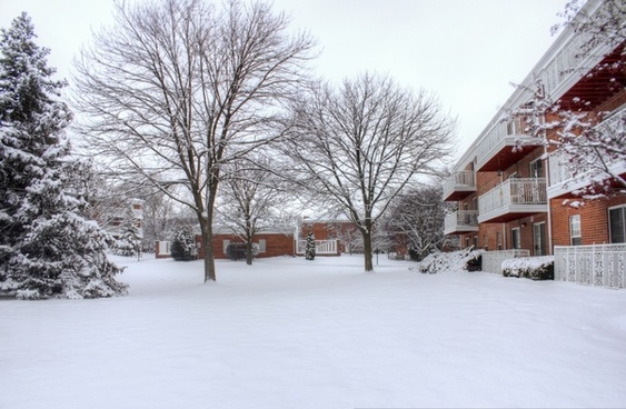 winter snow in madison wisconsin